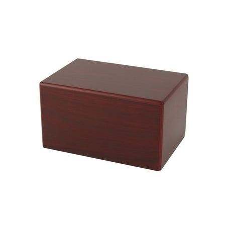 Adoration Cremation Urn Box 85 cubic inch - Cherry