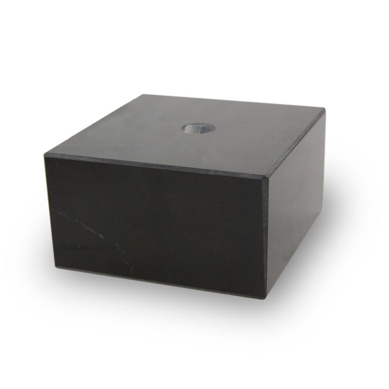 COMPONENT Black Genuine Marble Base (Small)