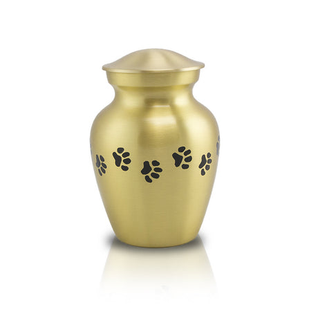Bronze Paw Cremation Urn - Extra Small