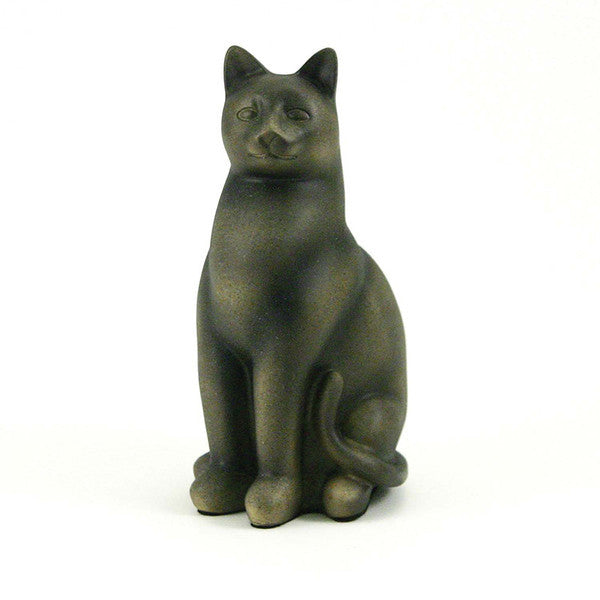 Grand Cat Cremation Urn - Sable