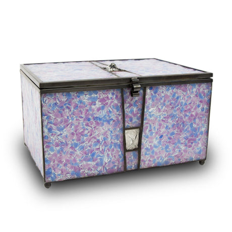 Orchid Urn Chest