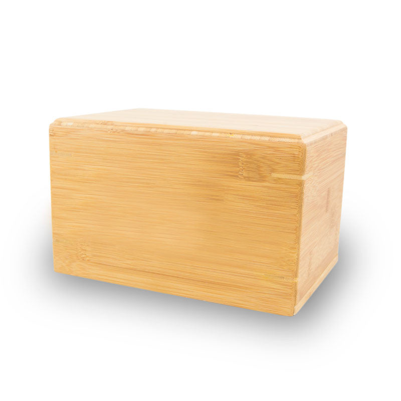 Bamboo Box Cremation Urn for Adults