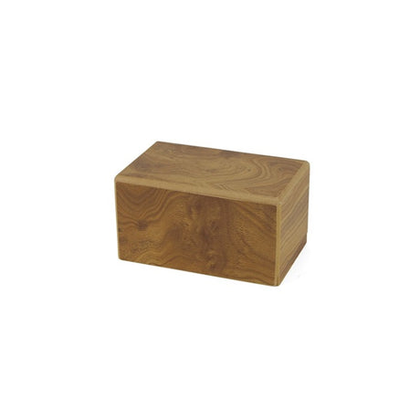 Adoration Cremation Urn Box 25 cubic inch - Natural