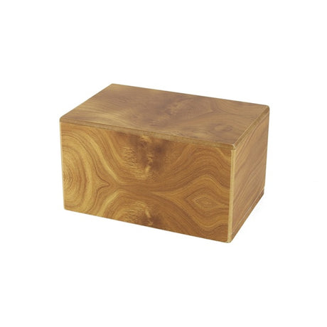Adoration Cremation Urn Box 85 cubic inch- Natural