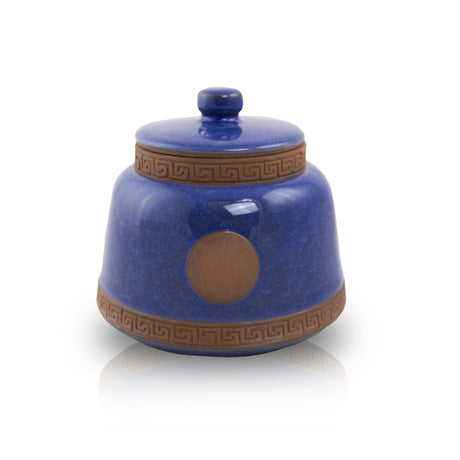 Azure Ceramic Pet Urn - Extra Small