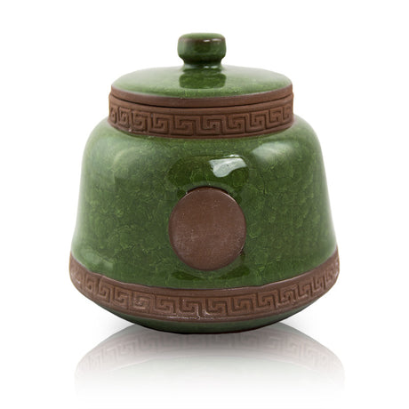 Emerald Ceramic Pet Urn - Small