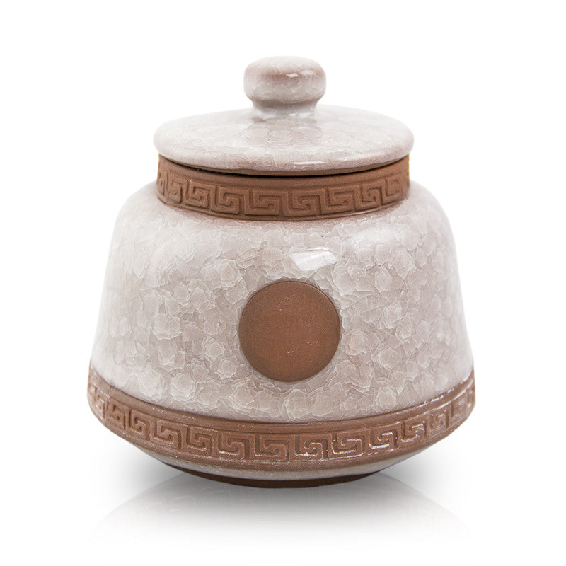 Iridescent Ceramic Pet Urn - Small