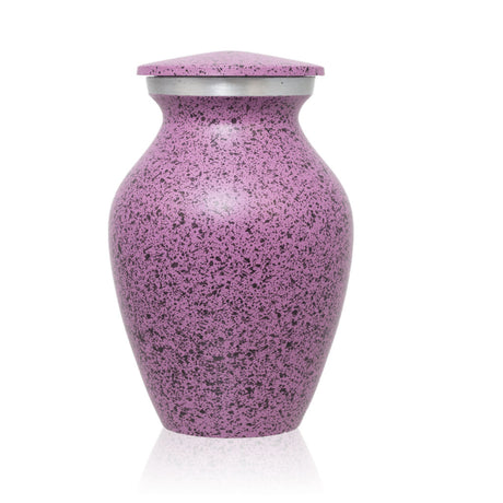 Two-Tone Lilac Classic Cremation Urn - Keepsake