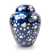 Paws of Love Pet Urn - Blue