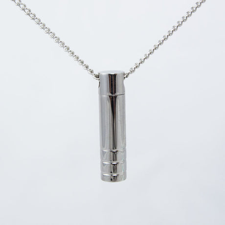 Stainless Steel Cylinder Cremation Pendant