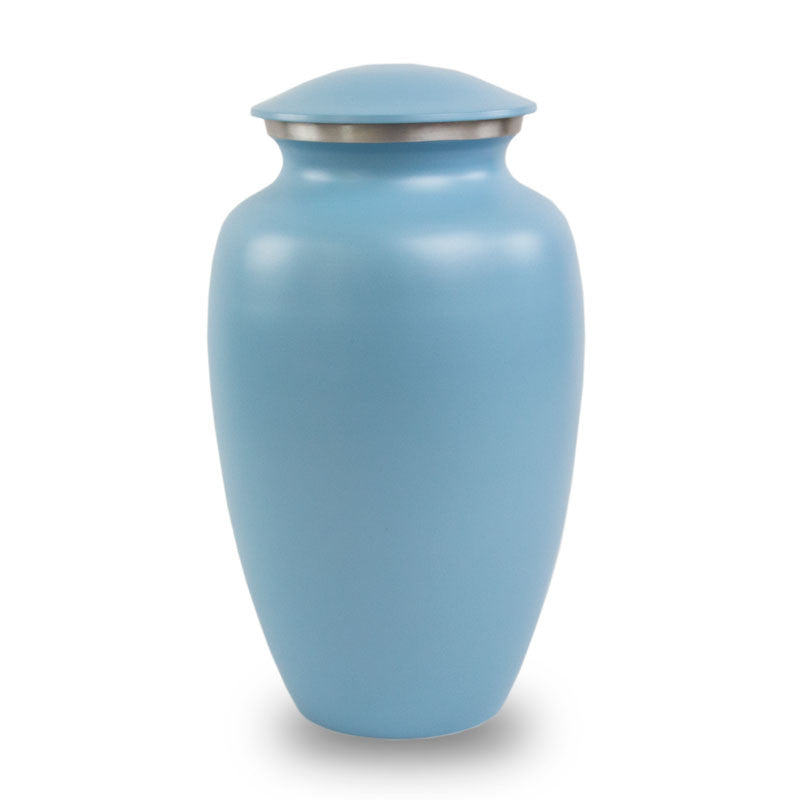 Blue Classic Cremation Urn
