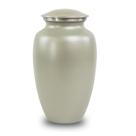 Gray Classic Cremation Urn
