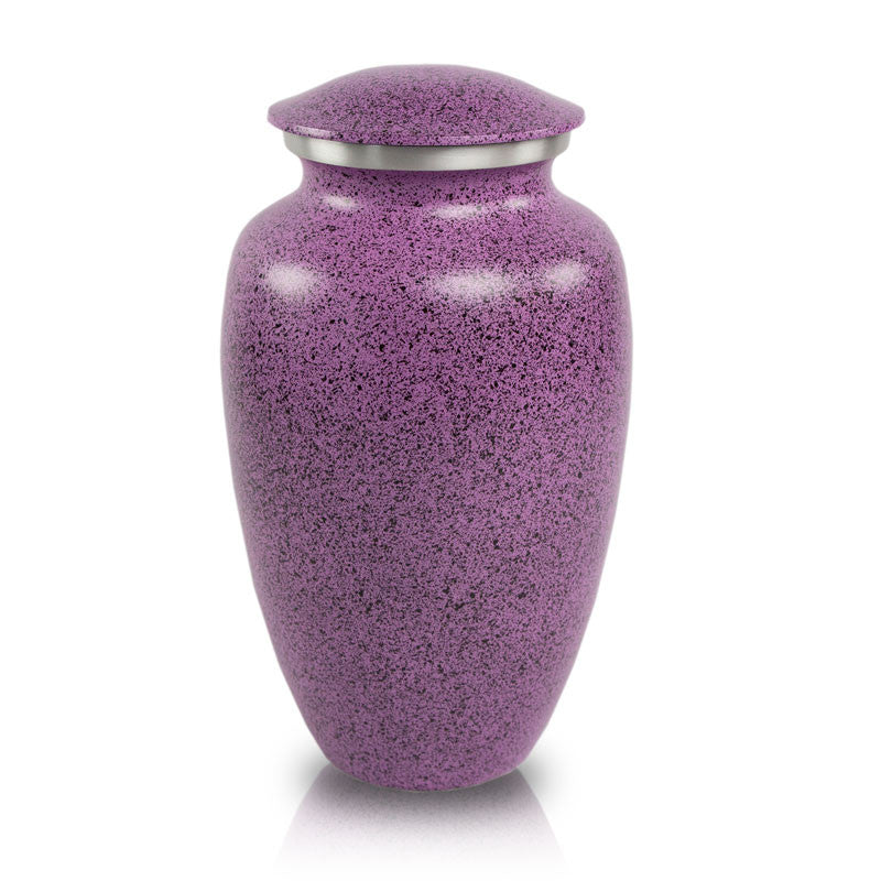 Two-Tone Lilac Classic Cremation Urn