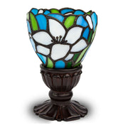 White Lily Memory Lamp