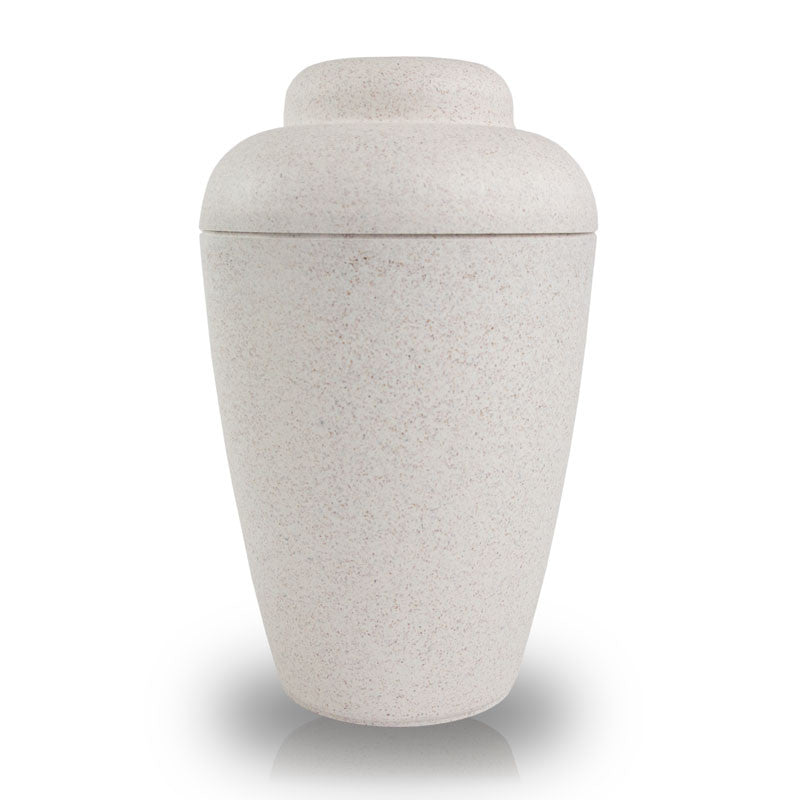 NatureUrn® Biodegradable Cremation Urn - White