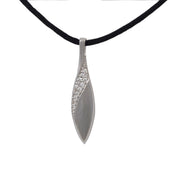 Diamond Tear Drop Cremation Pendant