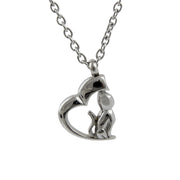 Cremation Pendant - My Cat, My Heart
