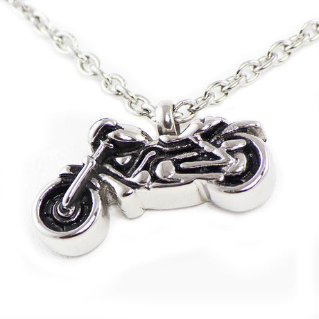 Motorcycle Cremation Necklace