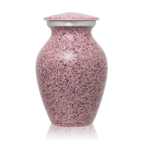 Two-Tone Pink Classic Cremation Urn - Keepsake