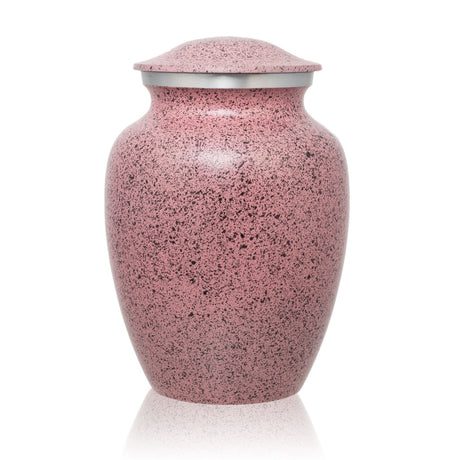 Two-Tone Pink Classic Cremation Urn - Medium