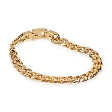 Men Bracelet - 8mm Gold Steel Cuban Link Bracelet