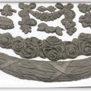 IOD SWAG DECOR MOULDS (6X10) Iron Orchid Design