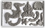 IOD CLASSIC ELEMENTS DECOR MOULD (6X10) Iron Orchid Design