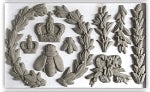 IOD LAUREL 6X10 DECOR MOULDS Iron Orchid Designs