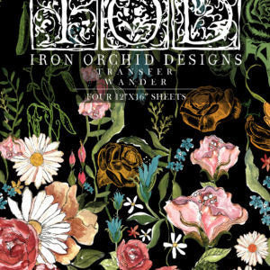 NEW IOD WANDER TRANSFER PAD Iron Orchid Design