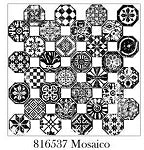 IRON ORCHID DESIGNS DÉCOR STAMPS - MOSAICO 12X12