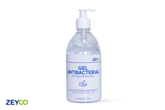 Gel Antibacterial Para Manos Zeyco 70% Alcohol