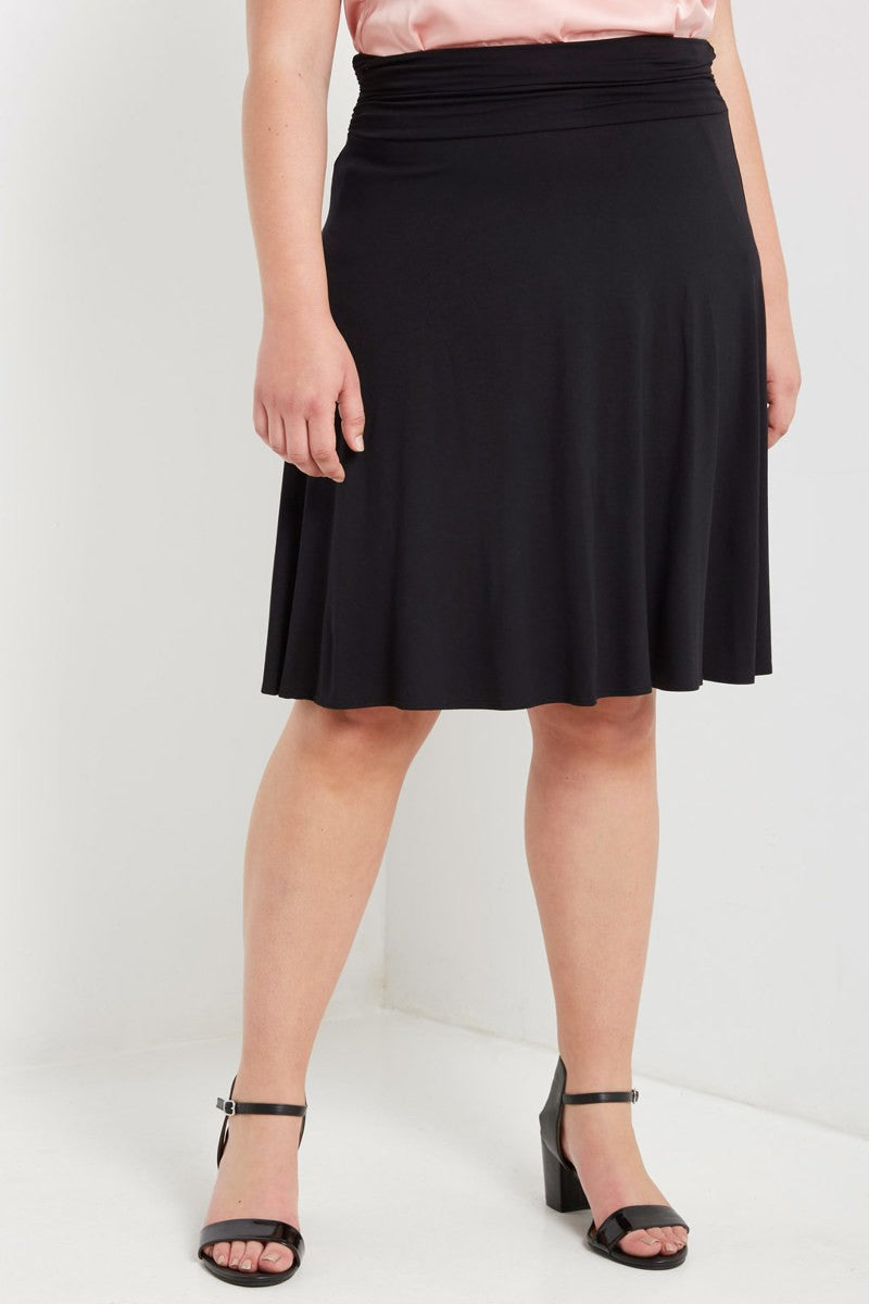 Knee Length Skirt-PLUS
