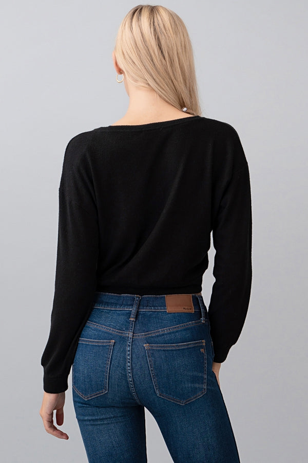 Cozy Long Sleeve Crop