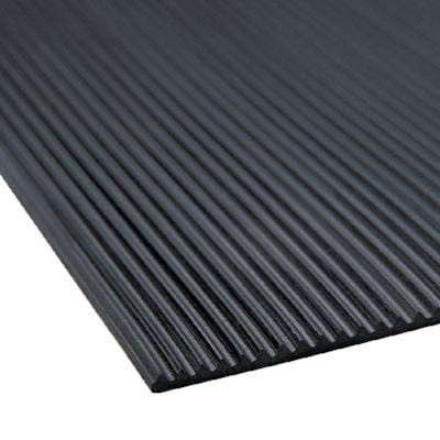 Low Profile Ribbed Vinyl Mat 18x24