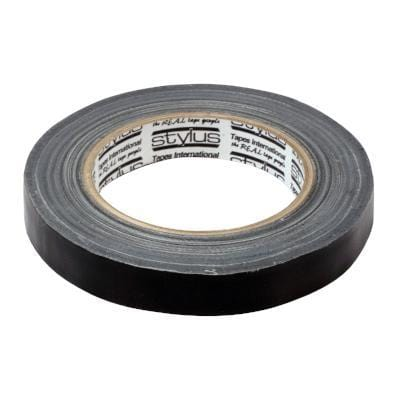BLACK CLOTH TAPE - 25mtr