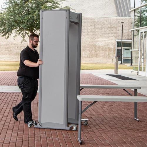 MZ 6100™ WALK-THROUGH METAL DETECTOR