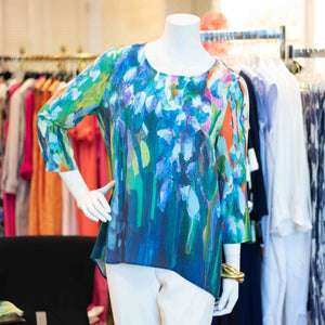 Claire Desjardis Multi-Bright Blouse