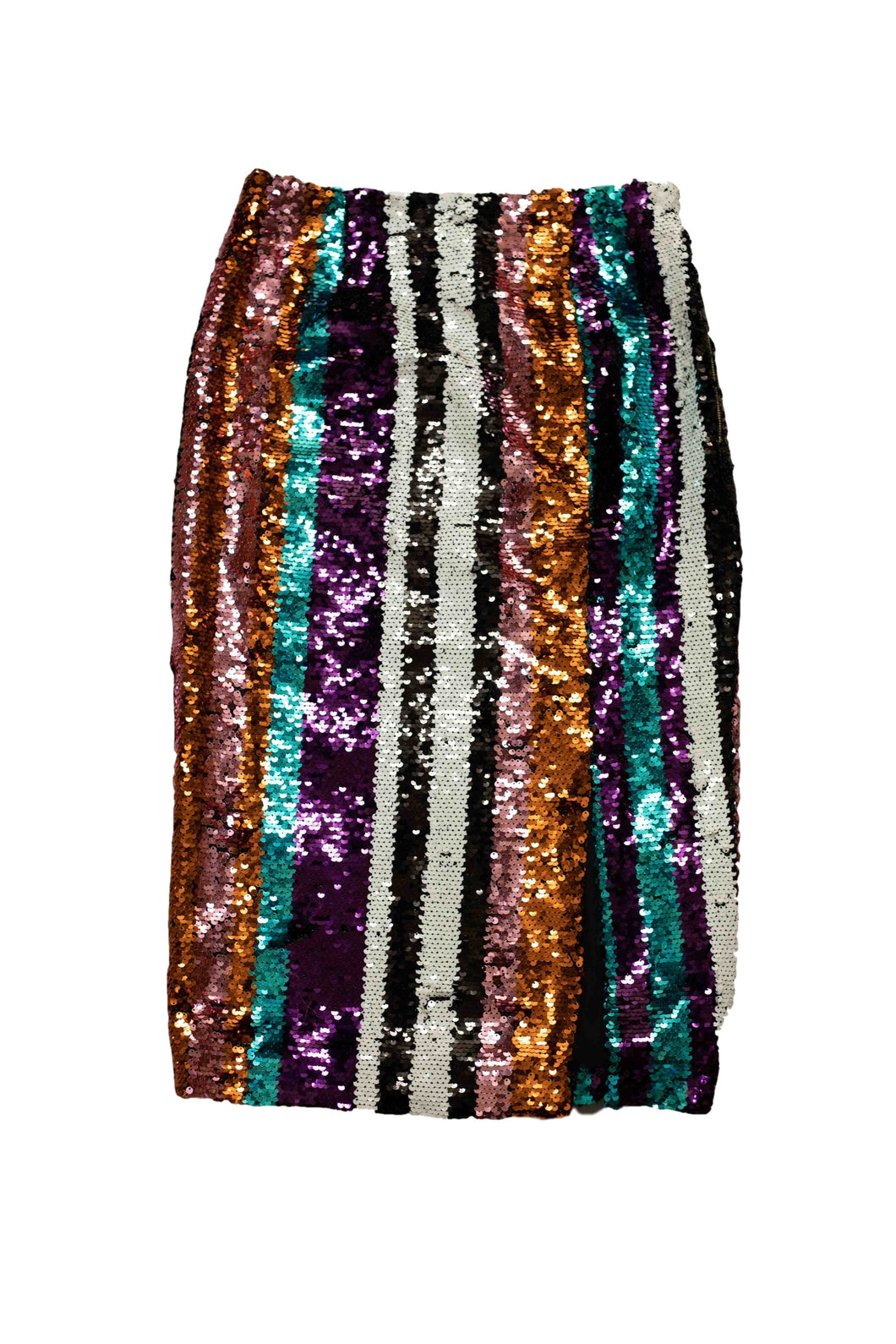Multi-color Sequin Skirt
