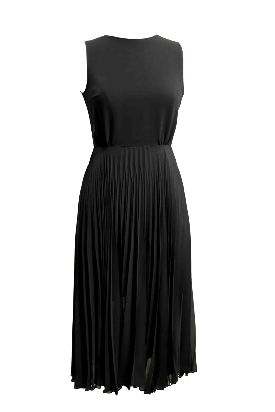 Cutout Black Midi Dress