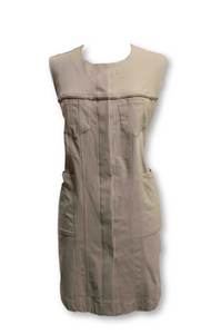 Tan Sleeveless Dress