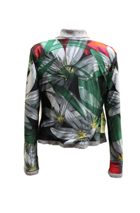 Printed Reversible Jacket