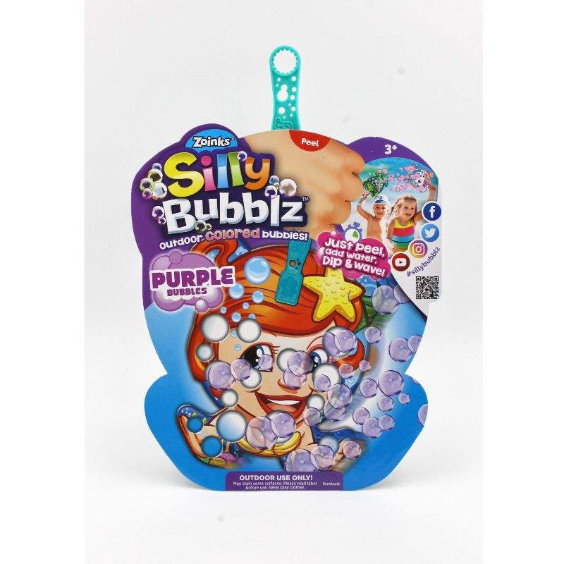 Zoinks Coloured Bubblz Assorted