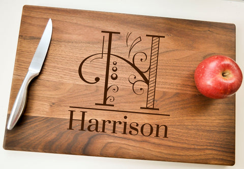 Custom Cutting Board, Personalized Cutting Board, Engraved Cutting Board, Wedding Gift, Housewarming Gift, Anniversary Gift, Christmas Gift-Circle City Design Co.