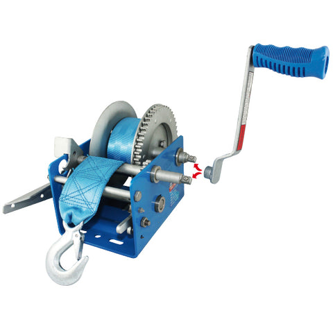 Ark Boat Winch 3:1 Cable - 275kg
