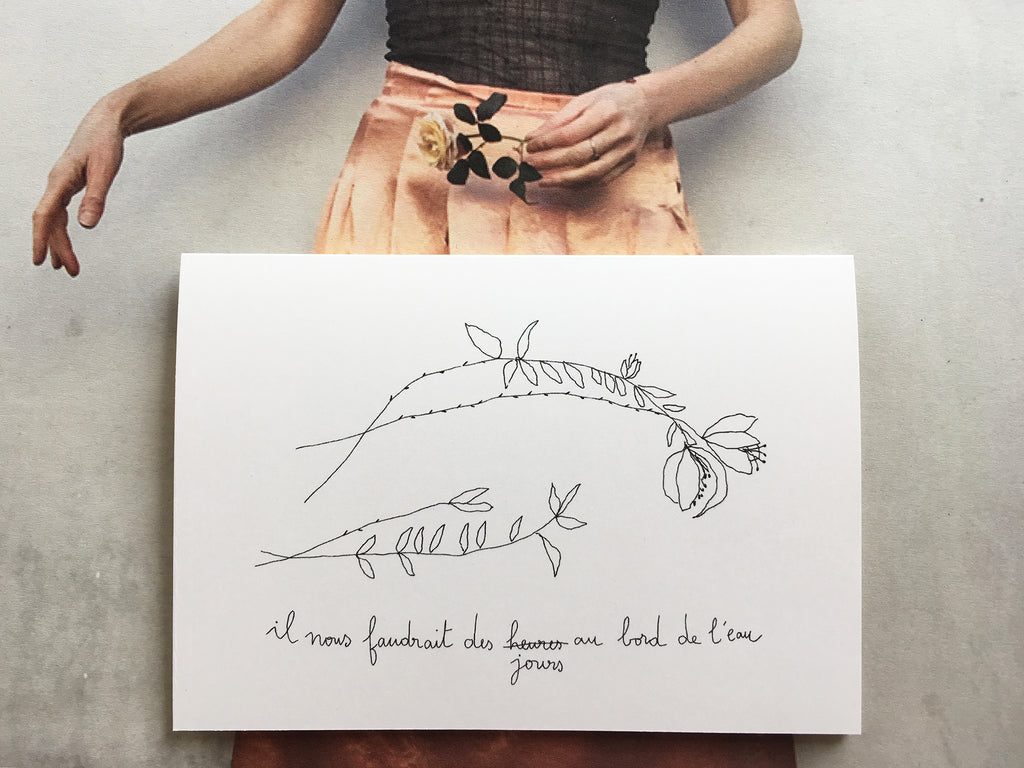 Sibylle – French illustrator & Founder of 'Papillon Papillonnage' – 2 kids
