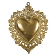 Small Maria's Heart Gold Ex-Voto