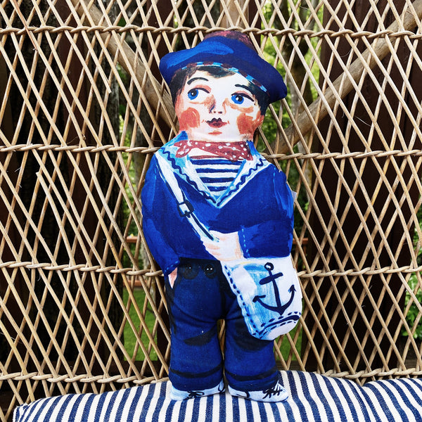 Sailor Fabric Doll by Nathalie Lété
