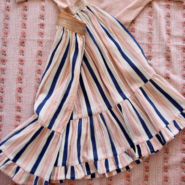 Girl/Adult Transat Stripes Long Skirt
