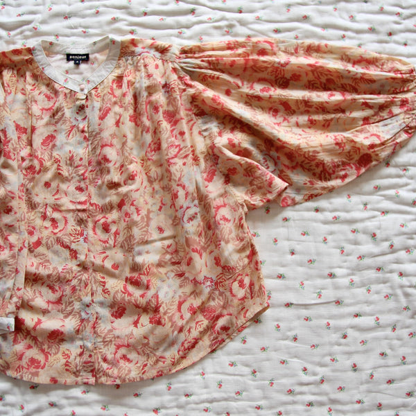 Faded Roses Woman Blouse