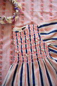 Transat stripes Hand smocked Blouse